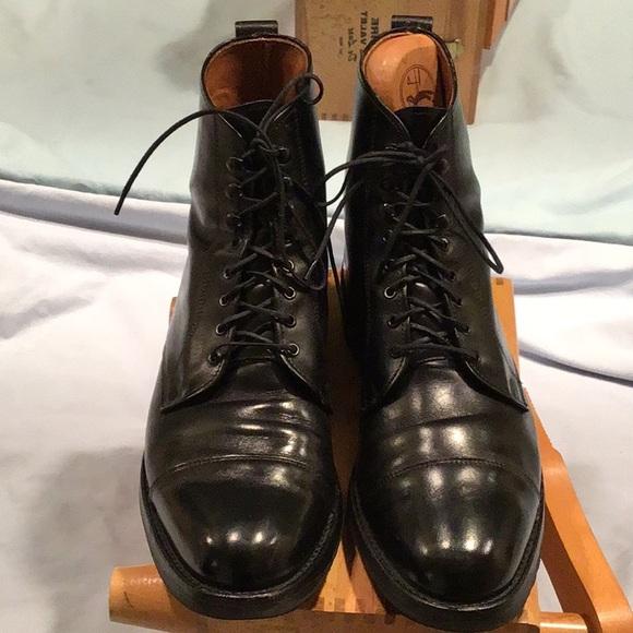 Allen Edmonds Other - Allen Edmonds Andover black leather/vibram soles